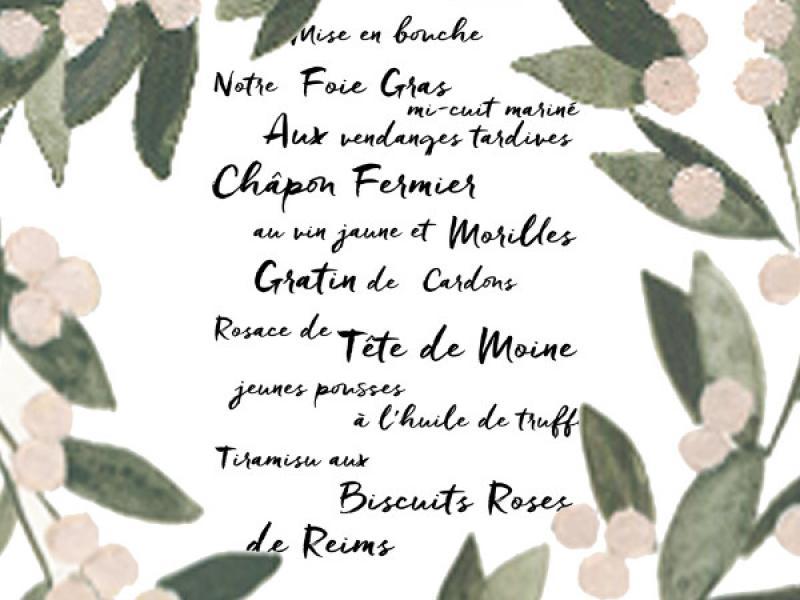 Réveillon du Jour de l'An ! Découvrez le menu de la Saint Sylvestre du restaurant Les Demoiselles de Rochefort